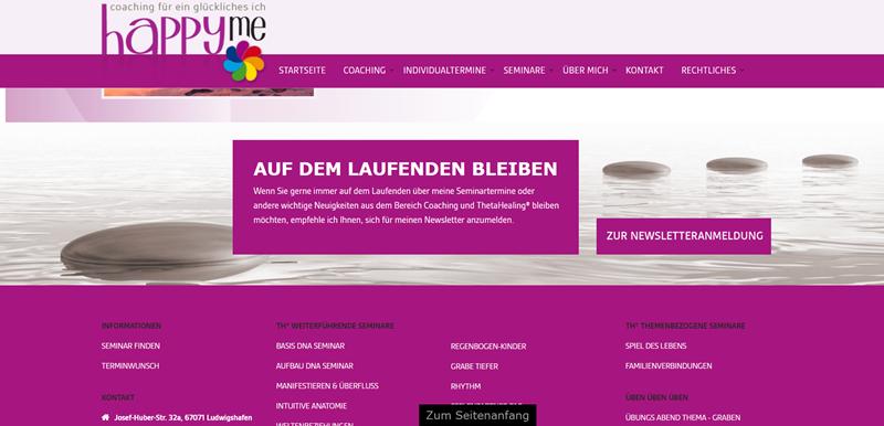 Joomla + JEvents Pro + RSVP - Happyme Seminare