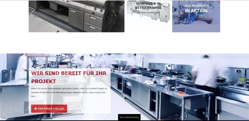 Großküchentechnik - Virtuemart Katalog